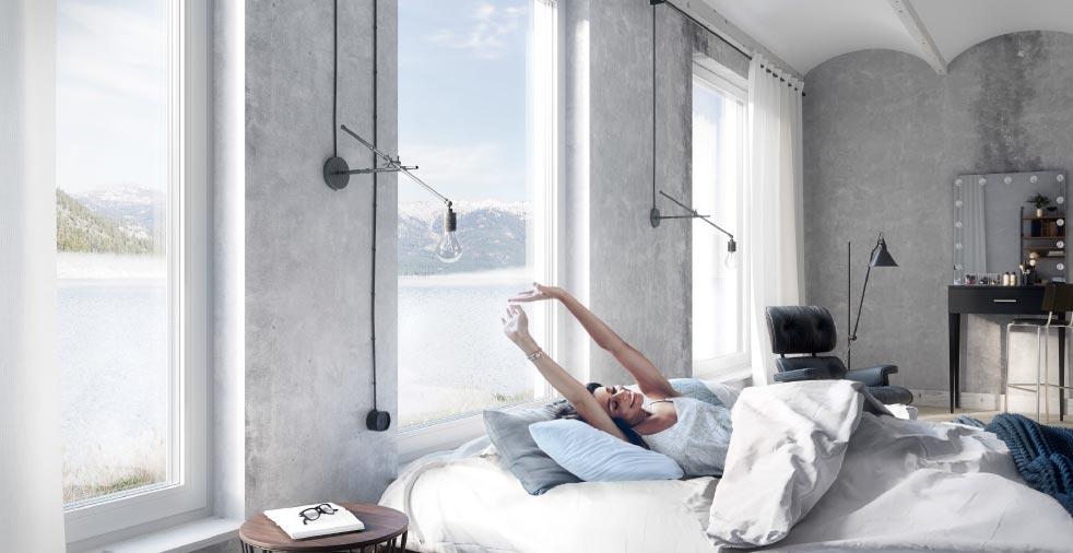 Okna aluminiowe Aluhaus 75