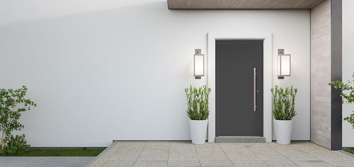Drzwi wejściowe Aluhaus Flat