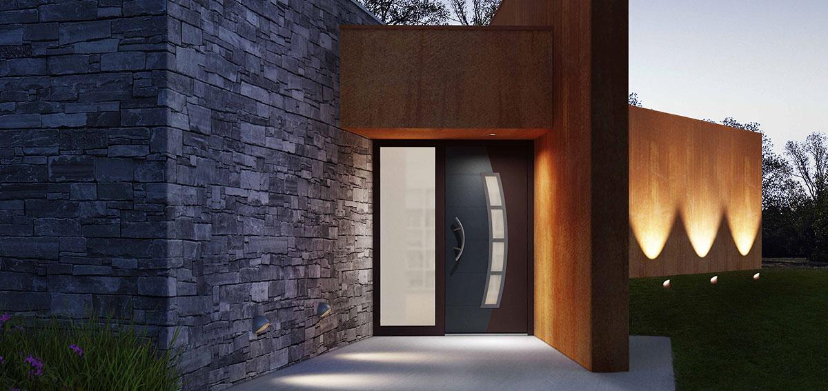 Drzwi wejściowe Vitus Aluhaus