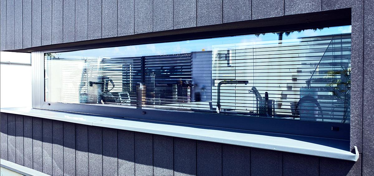 Okna do domu parterowego - Aluhaus