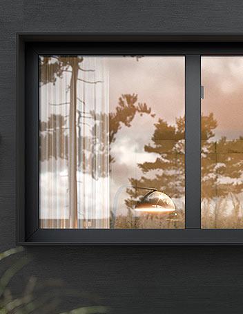 Okno Miru Hidden - Aluhaus