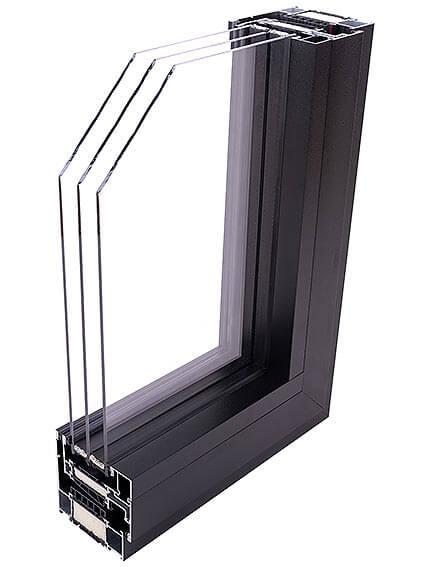Okno Miru Hidden - narożnik