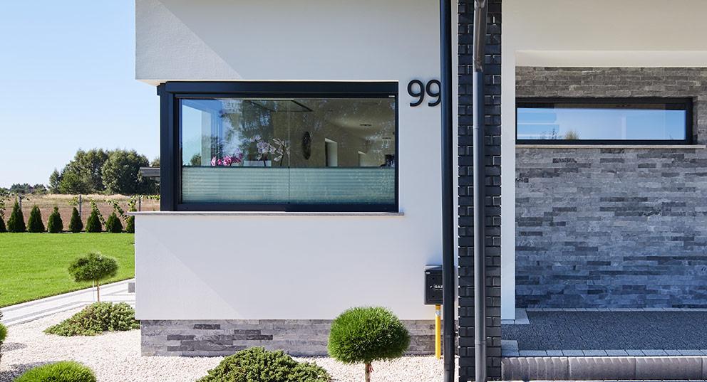 Aluminiowe okna narożne - Aluhaus